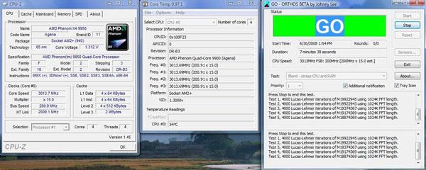 Amd's phenom x4 9950, 9350e and 9150e: lower prices, voltage.