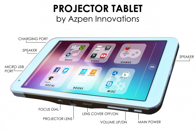 Azpen a727 7 android tablet review