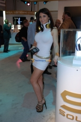 CES 2012 TechwareLabs Booth Babes