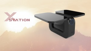 ACTIVEON SOLAR X charging station clouds